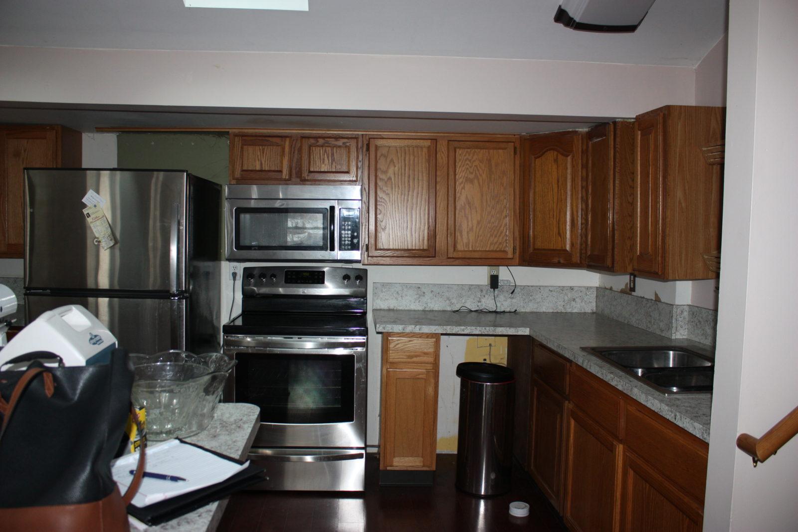 Hillside Kitchen Before